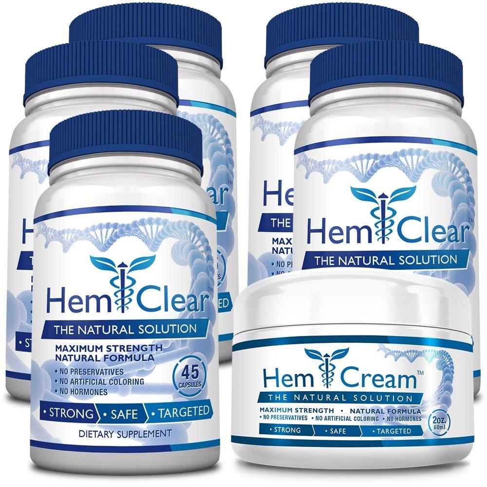 hemclear hemorrhoid cream and tablet