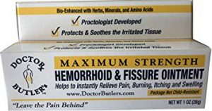 Doctor Butler's Hemorrhoid & Fissure Ointment review