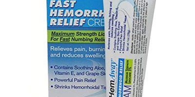 Hemaway hemorrhoid cream review