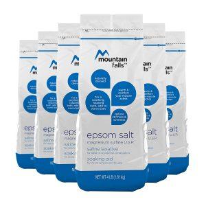 epsom salt bath benefits for hemorrhoids. Mountain Falls Epsom Salt Magnesium Sulfate review for sitz bath.