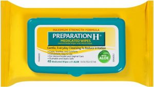 preparation h wipes review which you can use to cure hemorrhoids and get instant relief from burning piles and bleeding hemorrhoids