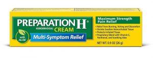 preparation h cream review